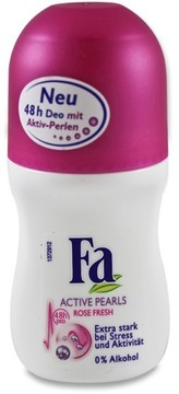Active Pearls Rose Fresh Deo Roll-on by Fa (50ml Roll-On)
