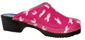 Cape Clogs Women's Pink Ribbon.