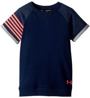 Under Armour Kids Favorite Terry Crew Girl's Clothing