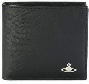 Vivienne Westwood Men's Black Leather Wallet.