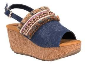 Muk Luks Women's Marion Wedge Sandal