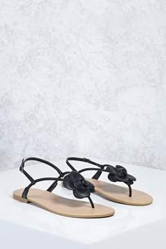 Forever 21 Floral Thong Sandals