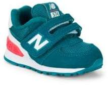 New Balance Girl's TD 574 Grip-Tape Sneakers