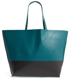Bp. Colorblock Faux Leather Tote - Green