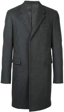 Jil Sander concealed buttoned coat