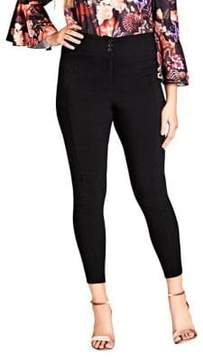 City Chic Plus Seam Bangaline High-Rise Pants