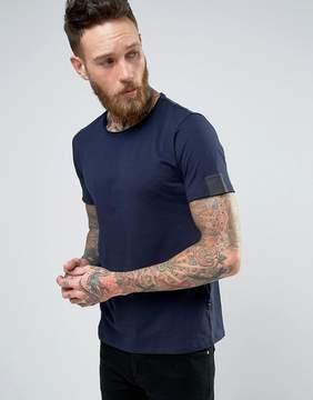 Replay Raw Edge Scoop Neck T-Shirt
