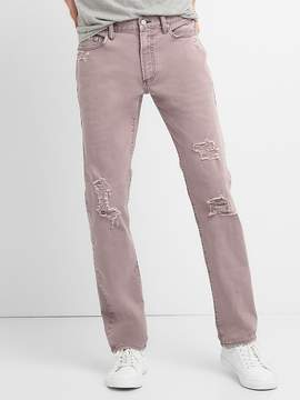 Gap Color Distressed Jeans in Slim Fit with GapFlex
