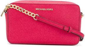 MICHAEL Michael Kors logo shoulder bag - PINK & PURPLE - STYLE