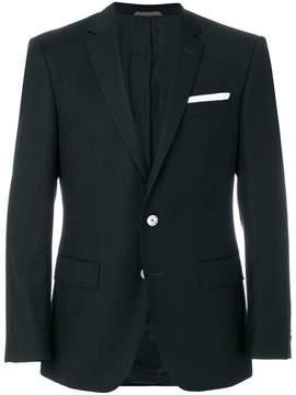 HUGO BOSS contrast detail blazer