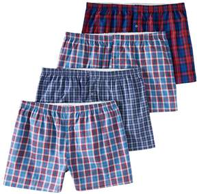 Fruit of the Loom Big & Tall Signature 4-pack Boxers
