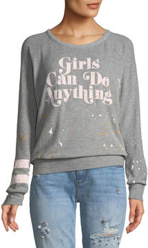 Chaser Girls Can Do Anything Sweatshirt