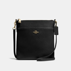 COACH Coach Messenger Crossbody - LIGHT GOLD/BLACK - STYLE