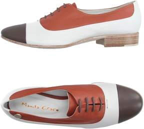 Manila Grace Lace-up shoes