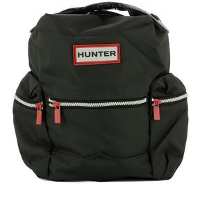 Hunter Green Fabric Backpack