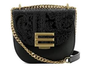 Etro Women's Black Leather Shoulder Bag.