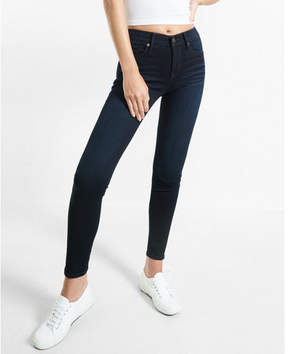 Express mid rise stretch+supersoft jean leggings