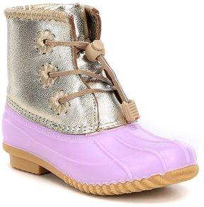 Jack Rogers Girls' Miss Chloe Metallic Boots