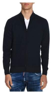 H953 Men's Blue Cotton Sweatshirt.