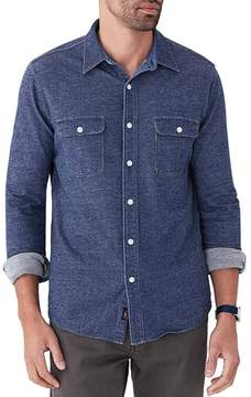 Faherty Knit Chambray Belmar Shirt - Men's
