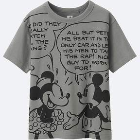 Uniqlo Boy's Disney Collection Short Sleeve Graphic T-Shirt