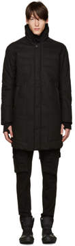 11 By Boris Bidjan Saberi Black Quilted Coat