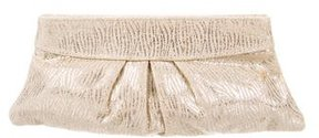 Lauren Merkin Brocade Pleated Clutch