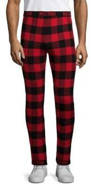Moschino Checkered Wool Pants