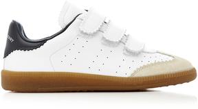 Isabel Marant Beth Stripe Leather Sneakers