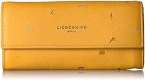 Liebeskind Berlin Women's Frida Leather Embroidered Flap Wallet