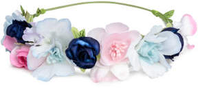H&M Hairband with flowers - Blue