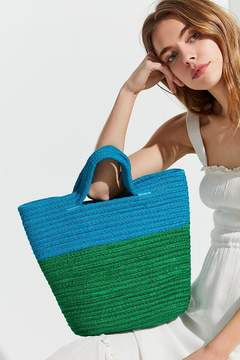 Urban Outfitters Stitched Cord Colorblocked Tote Bag