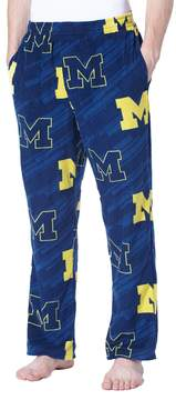 NCAA Men's Concepts Sport Michigan Wolverines Grandstand Fleece Pants