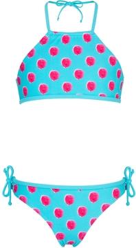 Snapper Rock SnapperRock Berry Halter Bikini Set