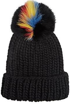 Eugenia Kim Women's Pom-Pom Knit Hat