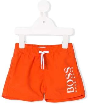 Trunks Boss Kids logo swim shorts