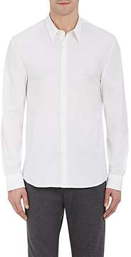 James Perse Men's Solid Poplin Shirt