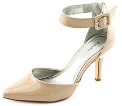 Style&Co. Style & Co Miloe Women Pointed Toe Synthetic Nude Heels.