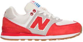 New Balance Boys' Preschool 574 Casual Shoes