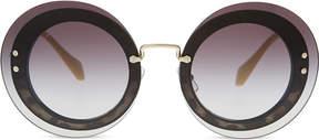 Miu Miu MU10RS Reveal round-frame sunglasses