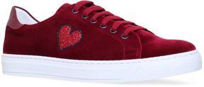 Anya Hindmarch Glitter Heart Sneakers