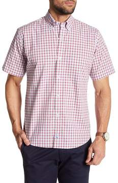 Tailorbyrd Short Sleeve Print Trim Fit Shirt