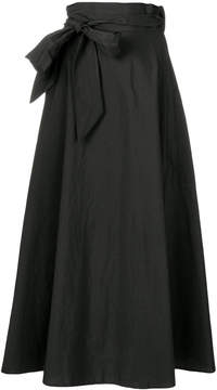 Barena full side tie skirt