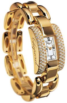 Chopard La Strada Diamond 18k Yellow Gold Ladies Watch