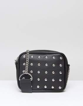 Monki Stud Detail Cross Body Bag