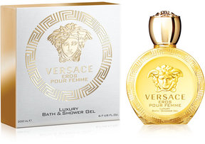 Versace Eros Pour Femme Eau de Toilette Bath and Shower Gel, 6.7 oz