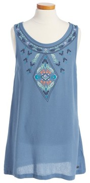 Roxy Girl's Everyone On A Run Embroidered Dress