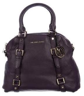 MICHAEL Michael Kors Leather Bedford Satchel