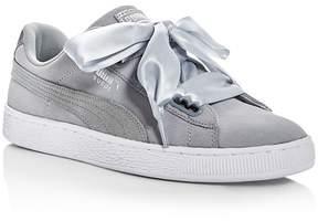 Puma Women's Heart Safari Lace Up Sneakers