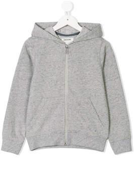 Zadig & Voltaire Kids back-print zip-up hoodie